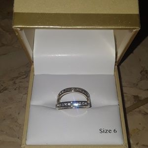 Gold eternity ring set